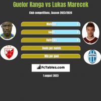 Guelor Kanga vs Lukas Marecek h2h player stats
