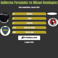 Guillermo Fernandez vs Misael Dominguez h2h player stats