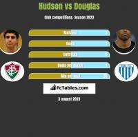 Hudson vs Douglas h2h player stats