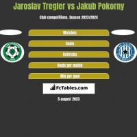 Jaroslav Tregler vs Jakub Pokorny h2h player stats