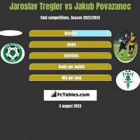 Jaroslav Tregler vs Jakub Povazanec h2h player stats