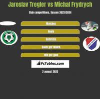 Jaroslav Tregler vs Michal Frydrych h2h player stats