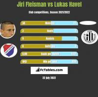 Jiri Fleisman vs Lukas Havel h2h player stats