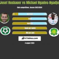 Josef Husbauer vs Michael Ngadeu-Ngadjui h2h player stats