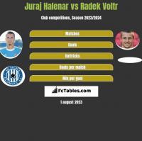 Juraj Halenar vs Radek Voltr h2h player stats