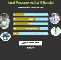 Karol Meszaros vs David Houska h2h player stats