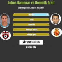 Lubos Kamenar vs Dominik Greif h2h player stats