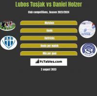 Lubos Tusjak vs Daniel Holzer h2h player stats