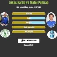 Lukas Hartig vs Matej Pulkrab h2h player stats