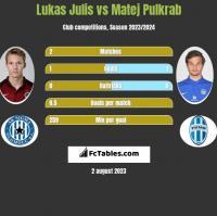 Lukas Julis vs Matej Pulkrab h2h player stats
