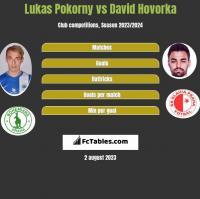 Lukas Pokorny vs David Hovorka h2h player stats