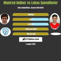Manfred Gollner vs Lukas Spendlhofer h2h player stats