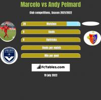 Marcelo vs Andy Pelmard h2h player stats
