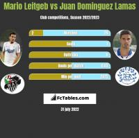 Mario Leitgeb vs Juan Dominguez Lamas h2h player stats
