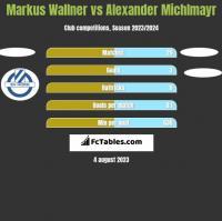 Markus Wallner vs Alexander Michlmayr h2h player stats