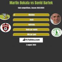 Martin Bukata vs David Bartek h2h player stats