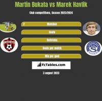 Martin Bukata vs Marek Havlik h2h player stats