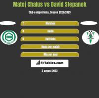 Matej Chalus vs David Stepanek h2h player stats