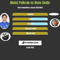 Matej Pulkrab vs Rene Dedic h2h player stats