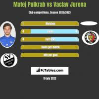 Matej Pulkrab vs Vaclav Jurena h2h player stats