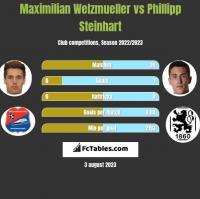 Maximilian Welzmueller vs Phillipp Steinhart h2h player stats