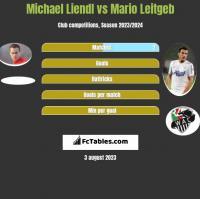 Michael Liendl vs Mario Leitgeb h2h player stats