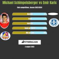 Michael Schimpelsberger vs Emir Karic h2h player stats