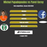 Michal Papadopoulos vs Pavel Cerny h2h player stats