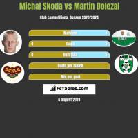 Michal Skoda vs Martin Dolezal h2h player stats