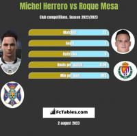 Michel Herrero vs Roque Mesa h2h player stats