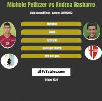 Michele Pellizzer vs Andrea Gasbarro h2h player stats