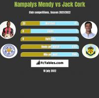 Nampalys Mendy vs Jack Cork h2h player stats