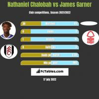 Nathaniel Chalobah vs James Garner h2h player stats