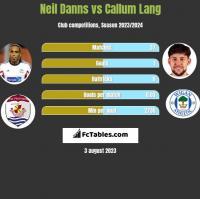 Neil Danns vs Callum Lang h2h player stats