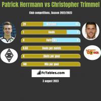 Patrick Herrmann vs Christopher Trimmel h2h player stats