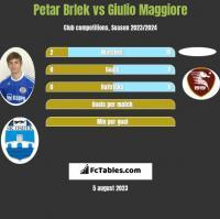 Petar Brlek vs Giulio Maggiore h2h player stats