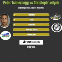 Peter Tschernegg vs Christoph Leitgeb h2h player stats