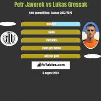 Petr Javorek vs Lukas Gressak h2h player stats
