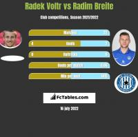 Radek Voltr vs Radim Breite h2h player stats