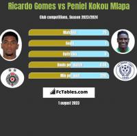 Ricardo Gomes vs Peniel Kokou Mlapa h2h player stats
