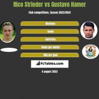 Rico Strieder vs Gustavo Hamer h2h player stats