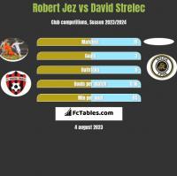 Robert Jeż vs David Strelec h2h player stats