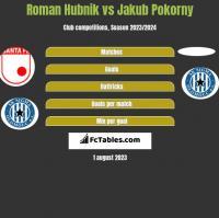 Roman Hubnik vs Jakub Pokorny h2h player stats