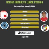 Roman Hubnik vs Ludek Pernica h2h player stats