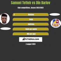 Samuel Tetteh vs Din Barlov h2h player stats