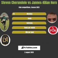 Steven Cherundolo vs Jannes-Kilian Horn h2h player stats