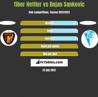 Tibor Heffler vs Bojan Sankovic h2h player stats