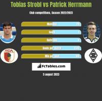 Tobias Strobl vs Patrick Herrmann h2h player stats