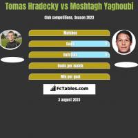 Tomas Hradecky vs Moshtagh Yaghoubi h2h player stats