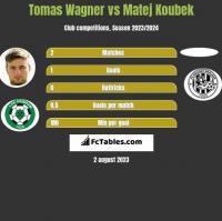 Tomas Wagner vs Matej Koubek h2h player stats